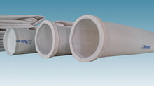 PE filter fabric for dust collection bag,Dia 140*5200mm
