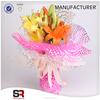 Floral Wrapper Organza Mesh