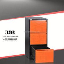 2 steel full high swing door steel filing cabinet modern office furniture