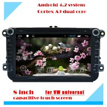 8 inch android 4 car dvd car radio gps navigation for volkswagen golf 4