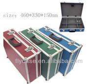 100% hard aluminum tool case,metal aluminum tool box with various color - special