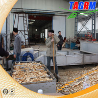 Stainless steel high quality MSU-H6 cassava chip drying line/tapioca chips drying machine price