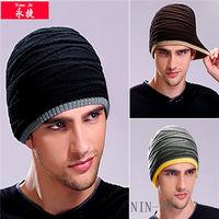 knit baseball hat pattern
