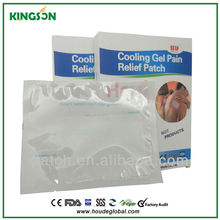 Reasonably prized locally manufactured direct sale product made in china cool pain relief cooling patch