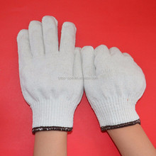 550g gloves made in LinYi Top-ppe/best quality and brown cuff/10 knitted