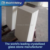 man-made stone white kitchen backsplash tile sheets