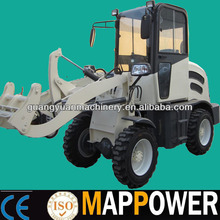 Excellent quality mini european style front loader with hydrostatic transmission