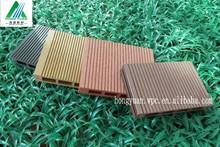 modern house Free Samples Wooden Plastic Composite Hollow Wpc Decking Outdoor Waterproof Wooden Flooring Plastic Outdoor Deck Fl