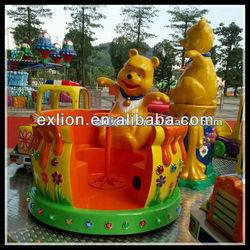 Theme park kids first choice amusement coffee cups ride
