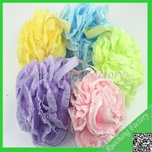 Lace Design Exfoliating Net Bath Sponge Wholesale