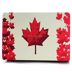 customized for macbook sublimation case, printing personal 3D photo on the case