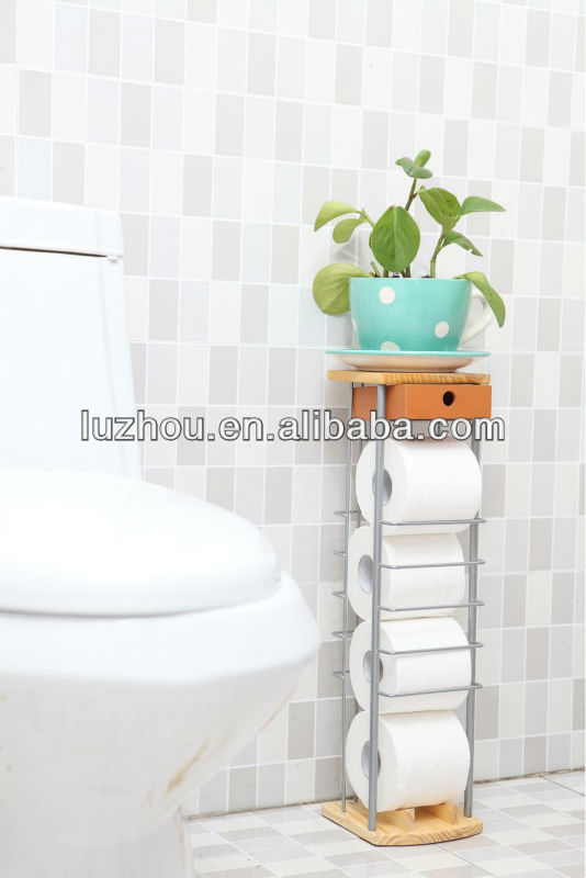 bathroom tissuerack Napkin holder Toilet Bathroom Tissue Paper Towel Holder Suction Toilet Paper Holder