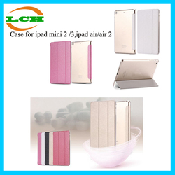2015 Slim Smart Case for ipad air / air 2 Flip Leather Ultra Thin Smart Stand Cover