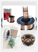 Brass Coated Steel welding wires/brass mig welding wire ER70S-6 Gold Supplier alibaba com in India