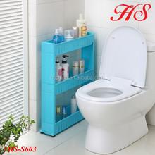 3 Tiers homeware plastic storage holder bathroom corner rack