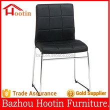 2015 most popular leather cover and chrome frame dining chairs for kitchen furniture