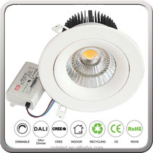 adjustable led recessed downlight 50W
