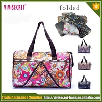 Cheap weekend nylon waterproof fancy pictures of sky travel luggage big foldable price of travel duffel bag
