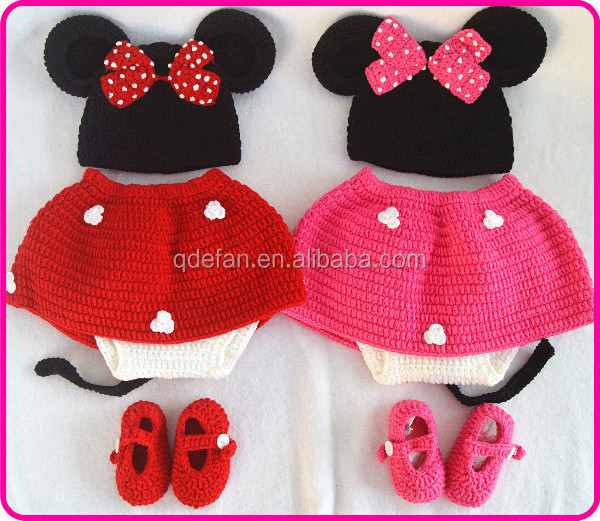 Moderno Patrón De Crochet Sombrero De Minnie Mouse Inspiración ...