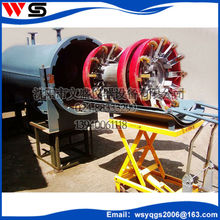 stainless steel pig receiver and launcher machine of high quality for cleaning oil pipeline