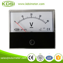 Industrial universal BP-670 DC40V BATTERY CHARGER METERS module with voltmeter display