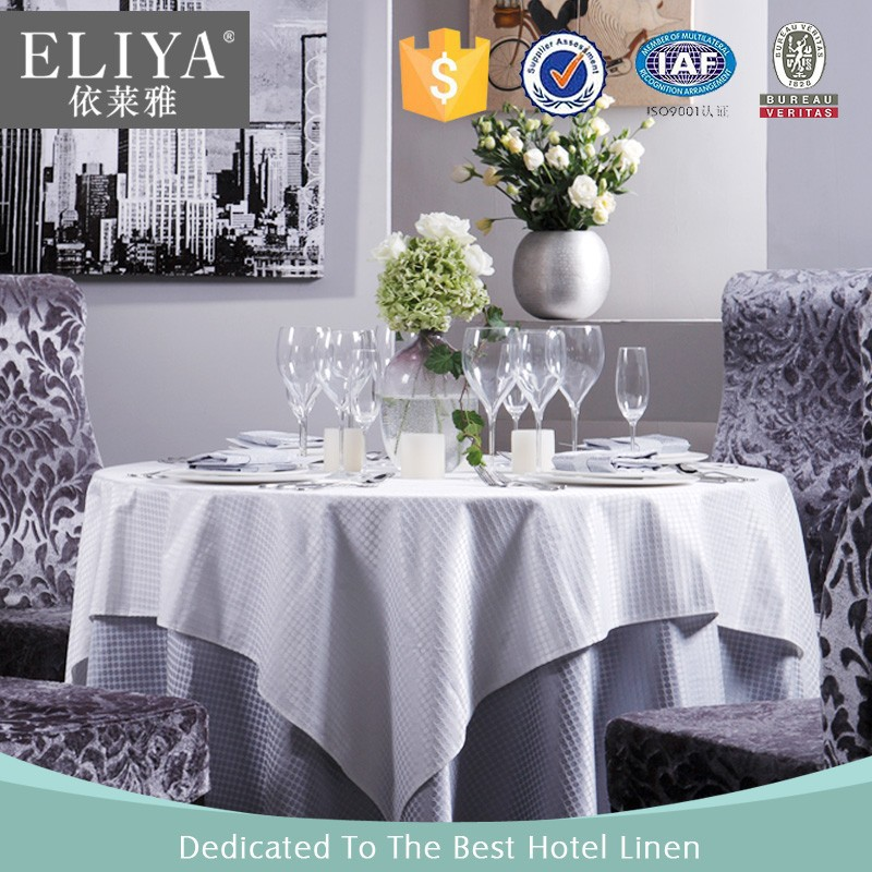 Eliya round table heat resistant table cloth made in china - Heat resistant table cloth ...