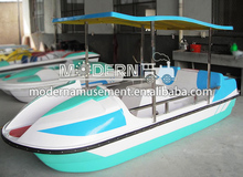 2015 luxurious pedal boat/ adult pedal boat/ paddle boat for water