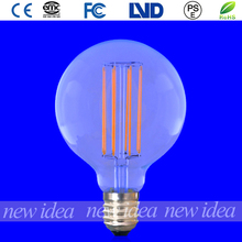 china supplier antique lighting lamp, long filament led bulb G80 4W hot selling