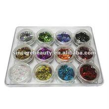 Professional nail art glitter,3D nail sticker