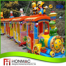 China supply durable electric amusement track train