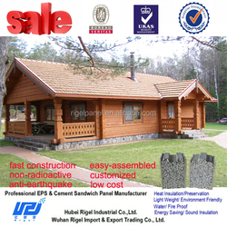 fast construction prefab home style export house from hubei