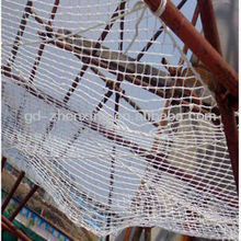 Factory direct high tensile nylon rope netting / rope fence net for hammocks in good quality