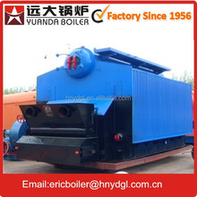 China boiler manufacturer good industrial boiler automatic double grate biomass hot water heating boiler