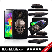 Luxury Skull TPU Cell Phone Cases for Samsung Galaxy S5 TPU Cell Cases