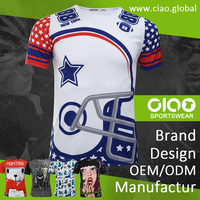 Made in Taiwan latest brand and custom - football jersey
