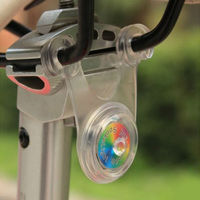 New Popular Good Bicycle Cycling Line Hanging Lamp Seat Light Front Fork Caution Tail Light Newest Mini Rubber Bike Safety Light
