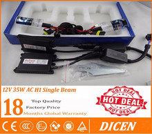xenon hid kit ac h1 12v 24v 25w 55w 75w 100w hid single beam bulb