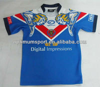 Wholesale Mens 2014 comfortable and good-looking Rugby football team jersey/rugby suit/rugby wear with Stand Up Round Collar