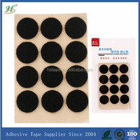 customized removable frame double side die cut hook and loop