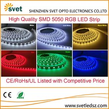DC 12V 220V SMD 5050 UL 5M 600LEDS RGB or Warm White Battery Powered Flexible LED Strip Light for Decorations