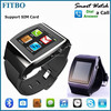 2015 Famous Phonebook 1.3M Camera GSM 1.55inch 3g cell phone watch