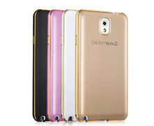 new phone cover for samsung note 3 case ,for samsung note cases with Metal Aluminum