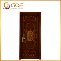 New design solid wood door interior
