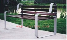 Outdoor Community Wooden Benches LY-185O