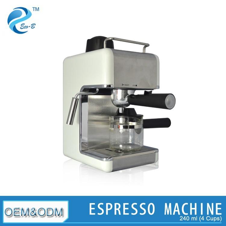 240 ml 2-4 taza peque�a Automat Espresso m�quina de caf� con leche ...
