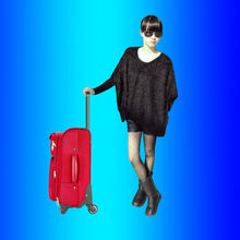 OEM polyester suitcase maleta bag luggage for American brand, China Brand Customize Factory