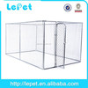 large outdoor chain link dog run kennels for wholesale