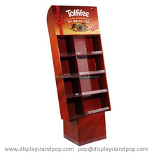 POP Fashionable cardboard Coffee series/Selection of Tea/ Housemade Chocolate Fresh Baked Cookies display stand with new style