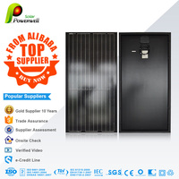 Powerwell Reliable,automatic line ,chinese monocrystalline solar panel 200w with good price