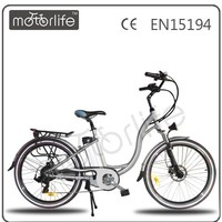 MOTORLIFE/OEM EN15194 2014 HOT SALE 36v 250w 26 inch electric city bike,buy electric bike in china